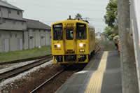 一両のワンマン電車